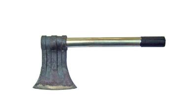 斧头刀刃淬火后案例